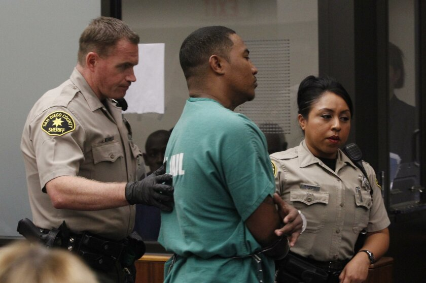 Titus Nathan Colbert was taken from the courtroom on Judge David Szumowski's order shortly after arriving when he wouldn't keep quiet during the proceedings.