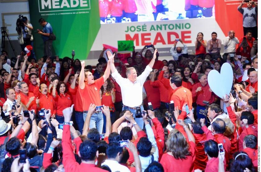 José Antonio Meade, precandidato presidencial del PRI, pidió esta tarde a sus competidores de otros partidos políticos practicarse un antidoping y hacer públicos los resultados para comprobar que tienen salud física y mental para contender por Los Pinos.