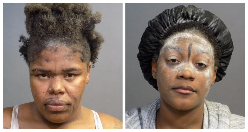 Two women arrested after South Coast Plaza restaurant smashed up with a bat in a rampage