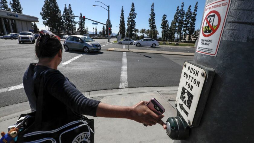 The Montclair City Council recently approved a law that makes it a ticket-worthy offense to cross the street while on your cellphone. It's an effort to reduce collisions that involve distracted pedestrians.