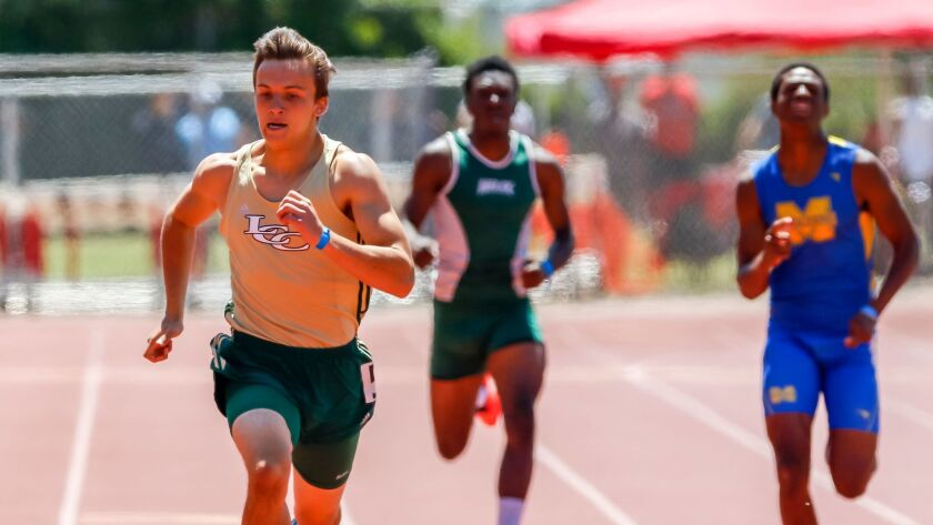 La Costa Canyon's Karson Lippert went under 47 seconds in the 400 meters.