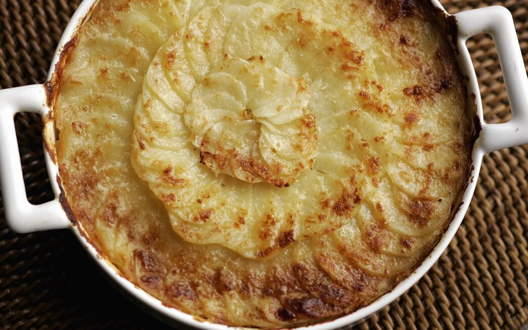 Potato gratin forestiere
