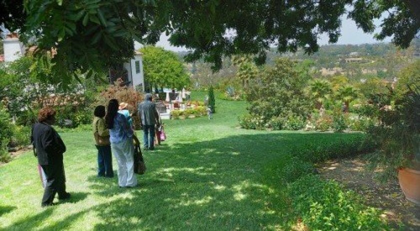 """Participants in the May 5 """"Rambling Thru the Ranch"""" event will take a charming trolley to discover the splendor of some of Rancho Santa Fe's most glorious gardens. Photo: Jon Clark"""