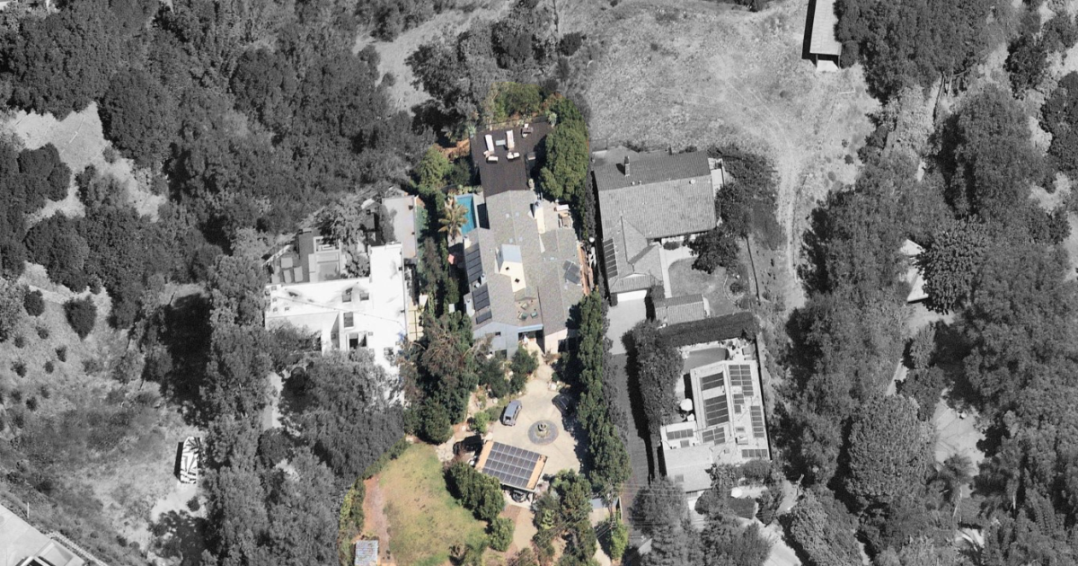 Betty Thomas lists her cutting-edge compound in Hollywood Hills