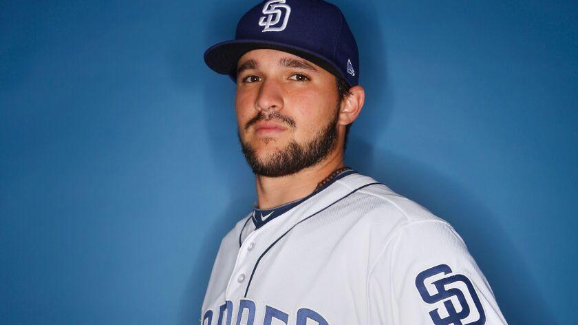 San Diego Padres catcher Luis Torrens. (Photo by K.C. Alfred/The San Diego Union-Tribune)