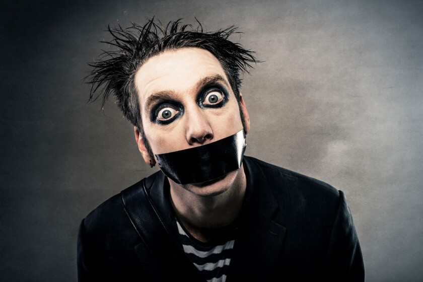 Tape Face will perform at the Poway Center for the Performing Arts at 8 p.m. Friday, Oct. 15.