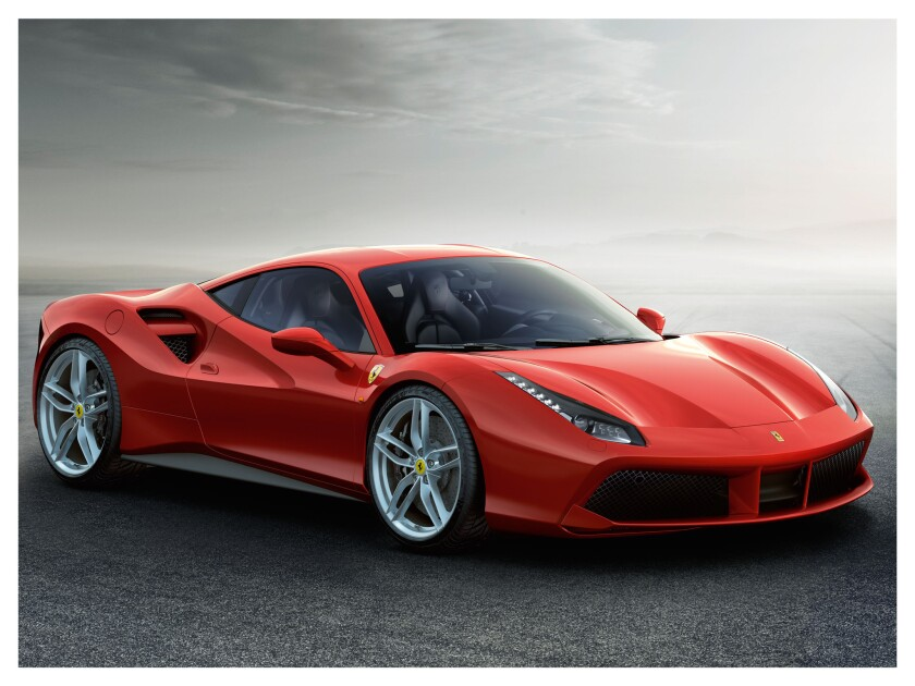 Ferrari will debut a heavily revised version of the 458 Italia at the Geneva Motor Show. Dubbed the 488 GTB, the car has a 660-horsepower, twin-turbocharged V-8 engine.