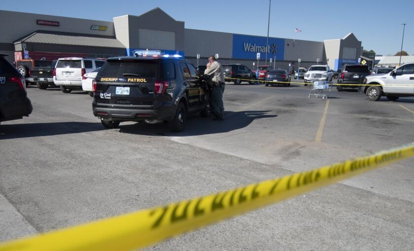 Three Shot And Killed At An Oklahoma Walmart