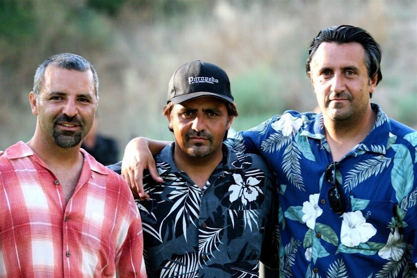 Gabriel, Henry and Marcos Michel, founders of Puropedo No Worries Wear.
