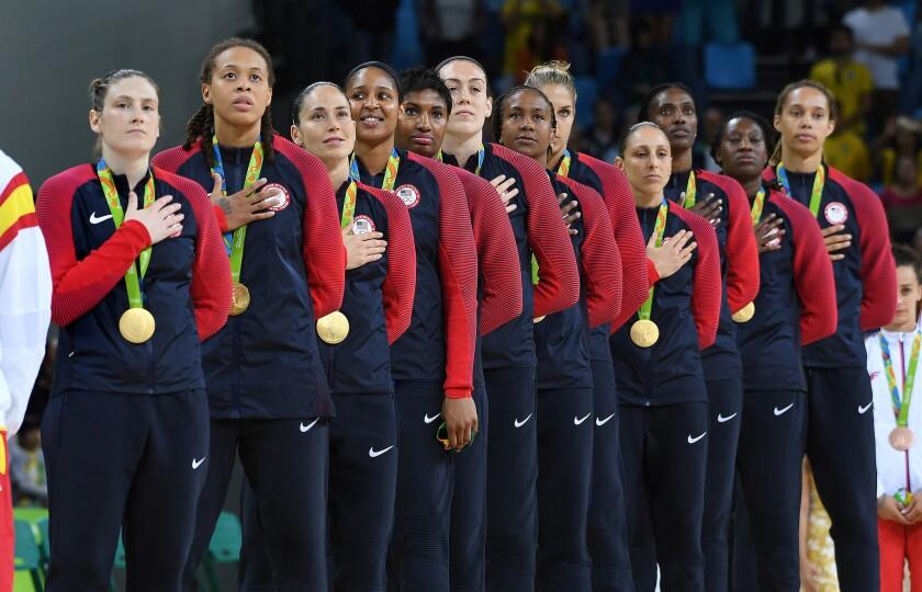 U.S. women's basketball team