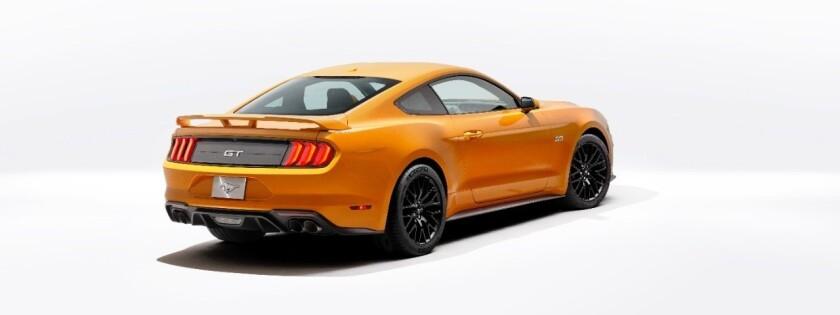El nuevo Mustang del 2018.