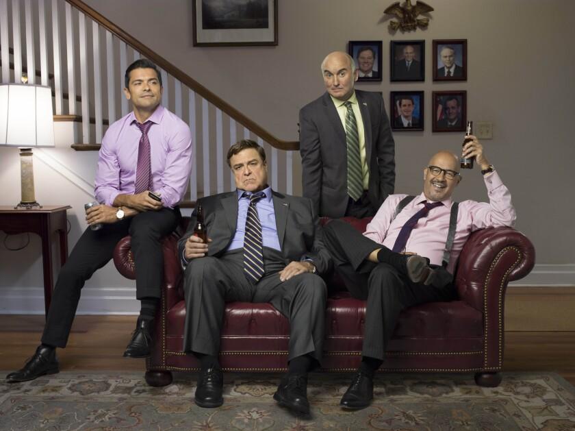Mark Consuelos, John Goodman, Matt Malloy, Clark Johnson