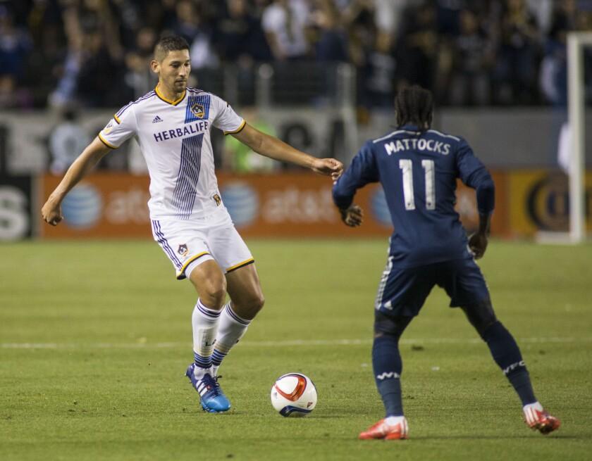 APphoto_MLS Whitecaps FC Galaxy Soccer