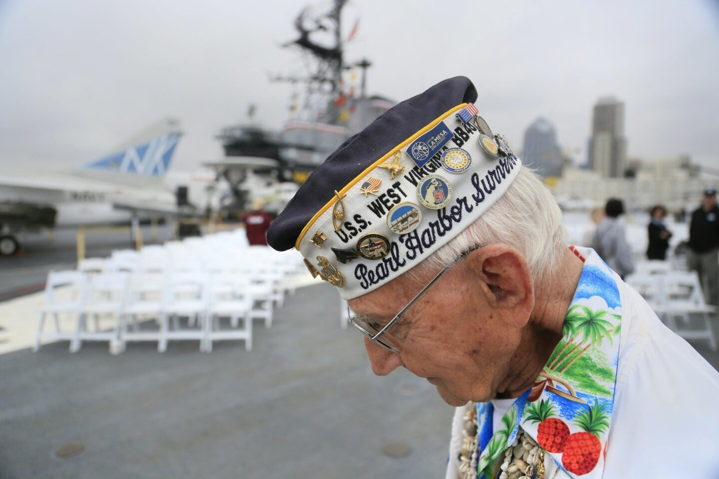 WWII Wreath Remembrance Ceremony