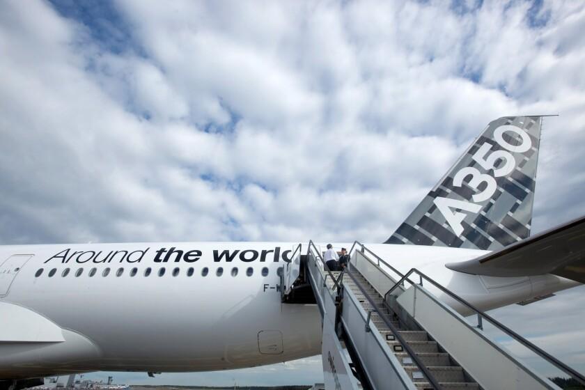 Finnair Oyj Becomes First European Airbus A350 Customer