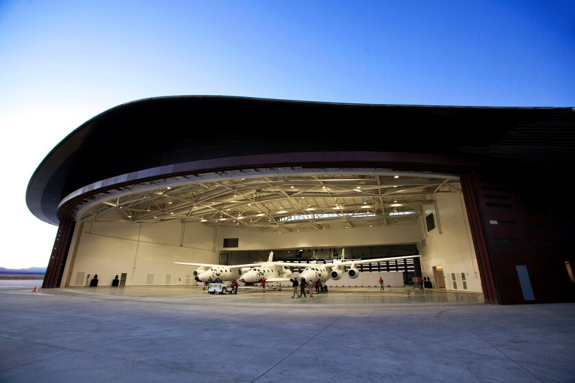 Virgin Galactic at Spaceport America