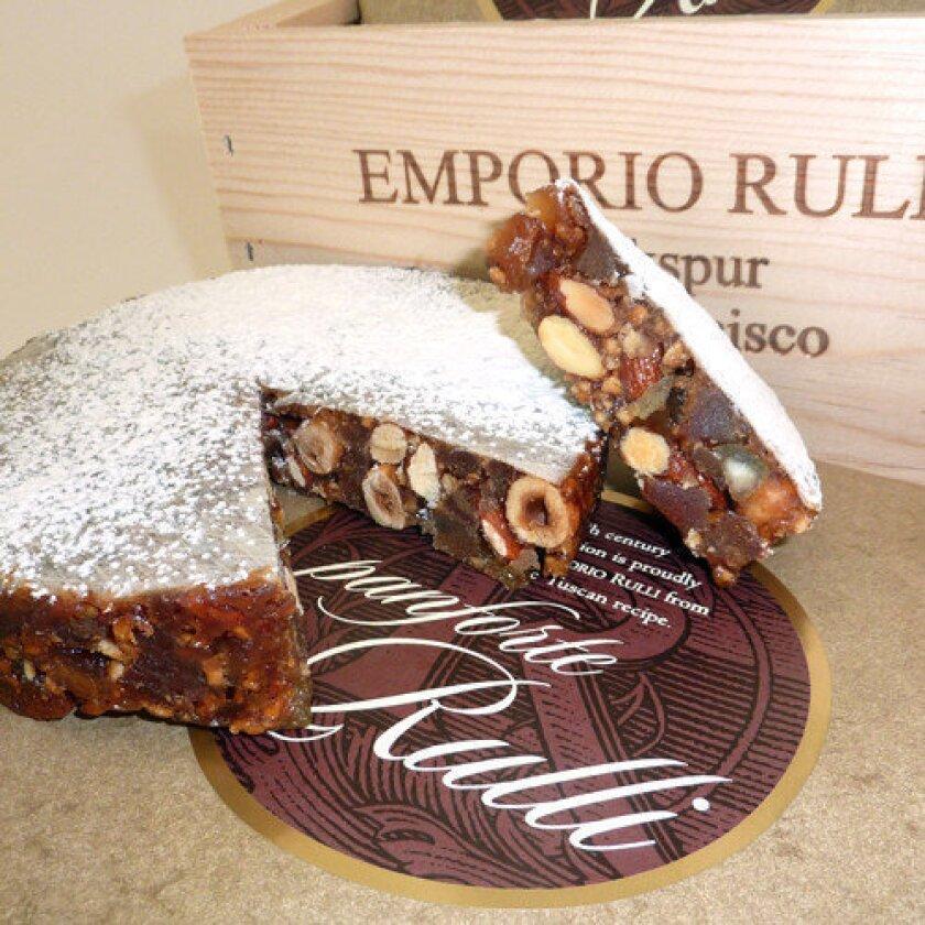 An Italian holiday treat: panforte from Emporio Rulli
