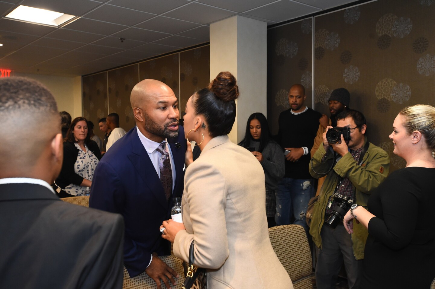 Los Angeles Sparks Annouce Derek Fisher Head Coach