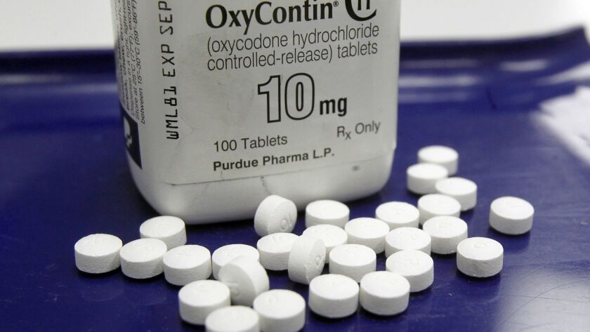 Oklahoma claims three opioid makers, including Purdue Pharma, understated the risks of prescription painkillers and overstated their benefit.