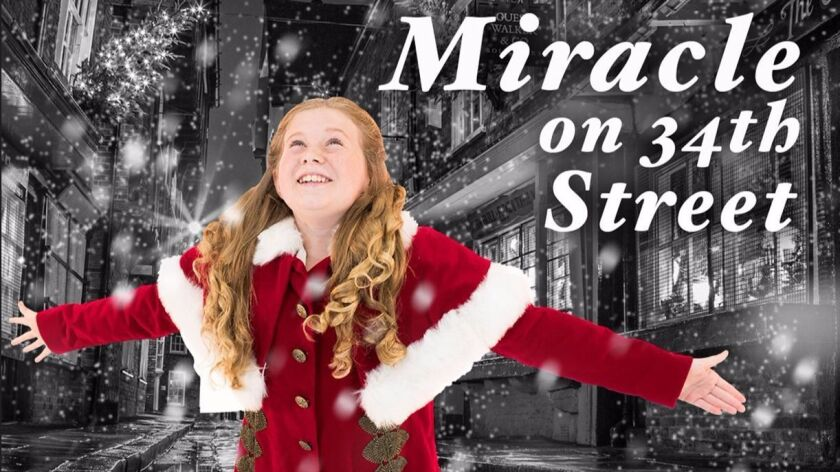Julia Van Skike as Susan Walker, in San Diego Musical Theatre's 'Miracle on 34th Street,' adapted by Lance Arthur Smith, directed by Colleen Kollar Smith, Dec. 1-24 at 444 Fourth Ave.