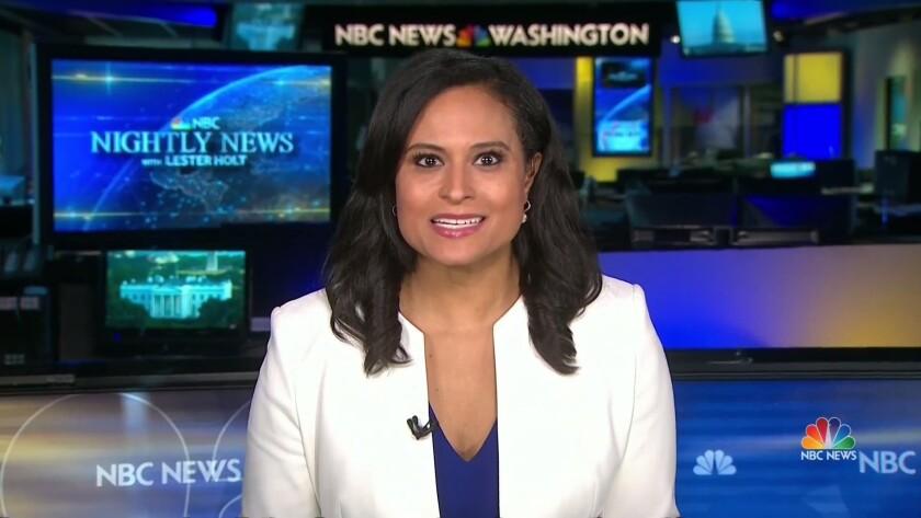 NBC News correspondent Kristen Welker