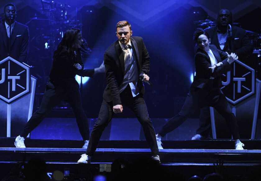 Justin Timberlake 20/20 Experience World Tour - Los Angeles