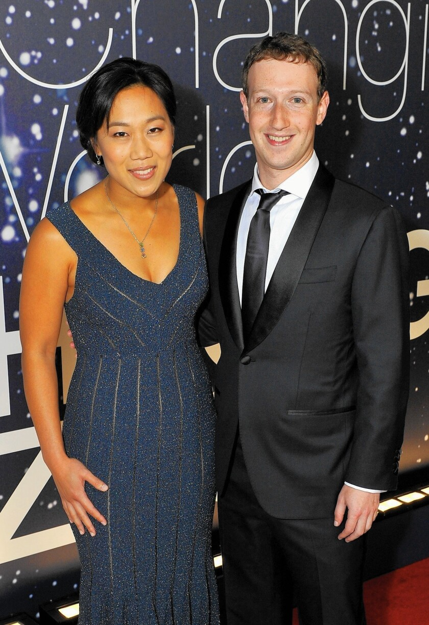 Facebook founder Mark Zuckerberg and his wife, Priscilla Chan, announced they would be donating 99% of their shares in Facebook, an amount currrently worth $45 billion.