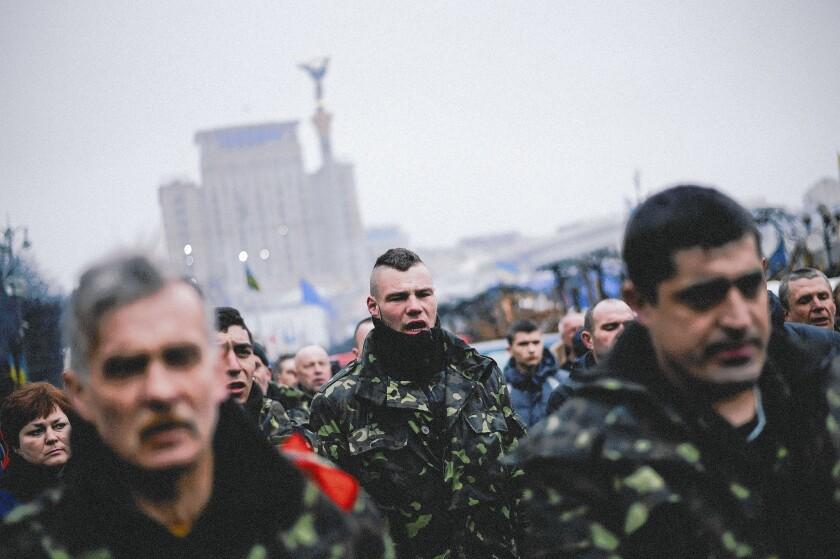 Kiev, Ukraine, protests