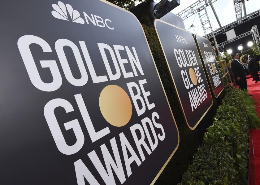 La alfombra roja de los Globos de Oro, en su 77ma edición anual, el 5 de enero de 2020