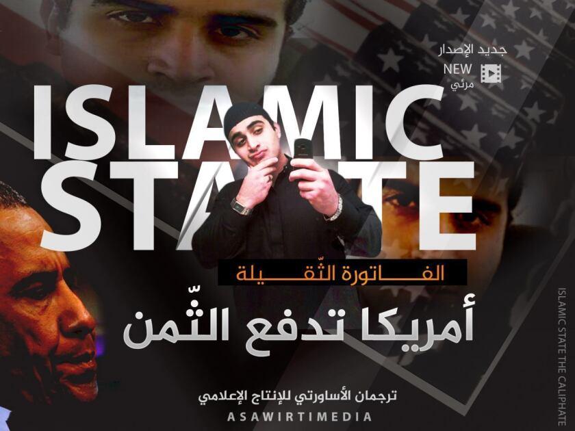 Omar Mateen. (Militant Media Arm via AP)