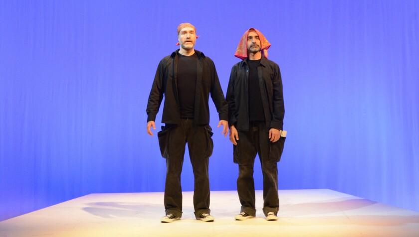 Odiseo Bichir and Bruno Bichir in 'eXtras'