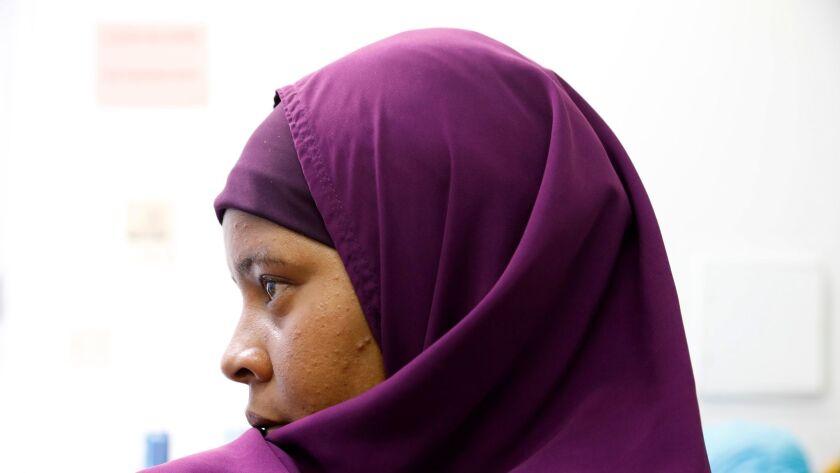San Diego, CA_8_3_17_|Sado Moh, originally from Mogadishu, Somali, emigrated to the United States.|