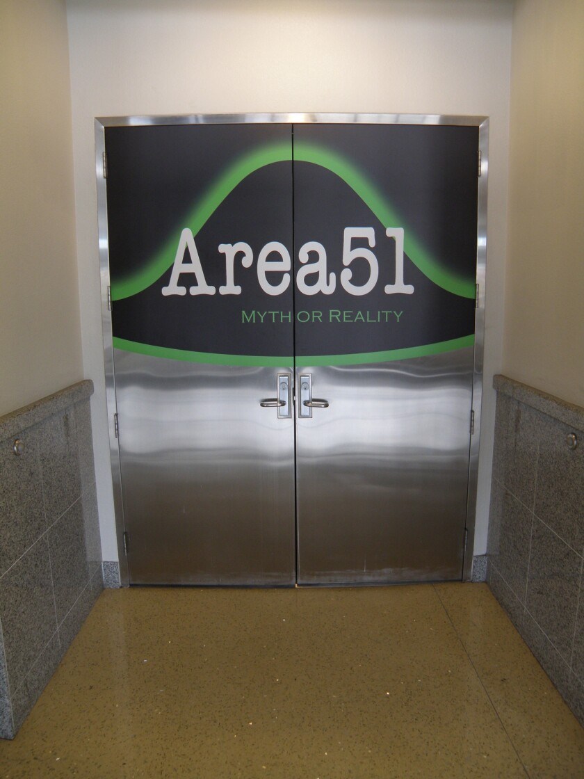 Las Vegas: Area 51? Top-secret aircraft? This and more at talk - Los