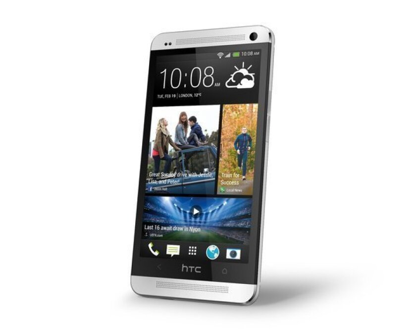 The HTC One may not be available until April because of part shortages, a report says.