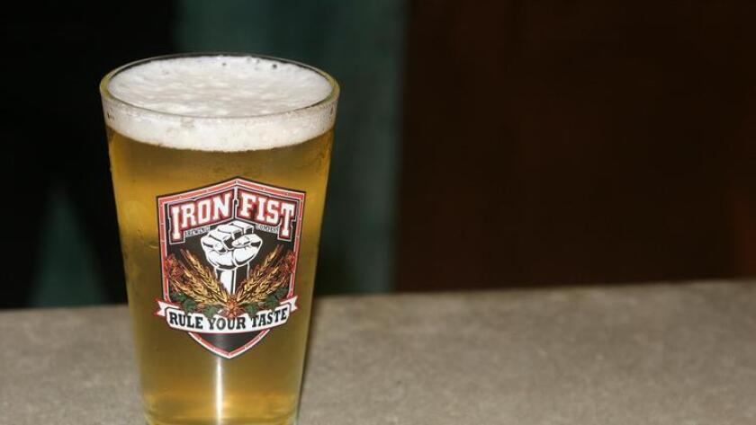 Estrella Del Barrio by Iron Fist Brewing Co. (Liz Bowen)