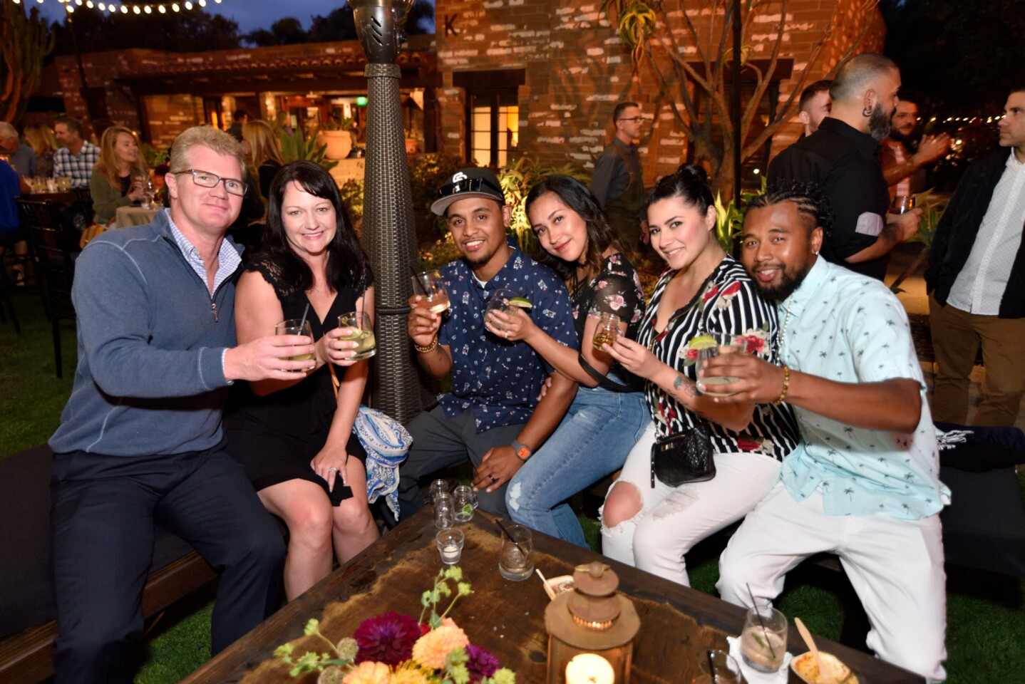 Guests at By the Barrel: Tequila at the Estancia La Jolla hotel enjoyed mariachi music, endless food and Herradura tequila tastings on Friday, June 29, 2018.
