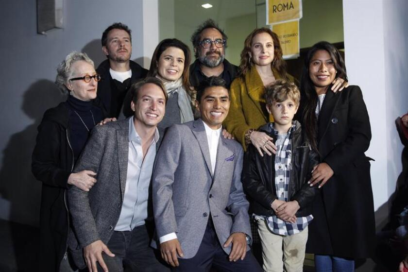 """Película """"Roma"""" se proyecta en antigua residencia presidencial de México"""
