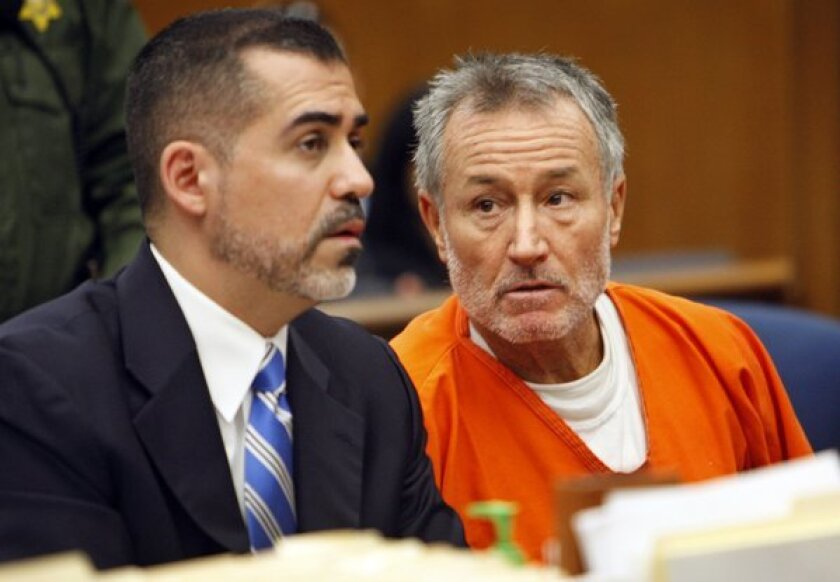 Former elementary teacher Mark Berndt, right, faces lewd conduct charges.