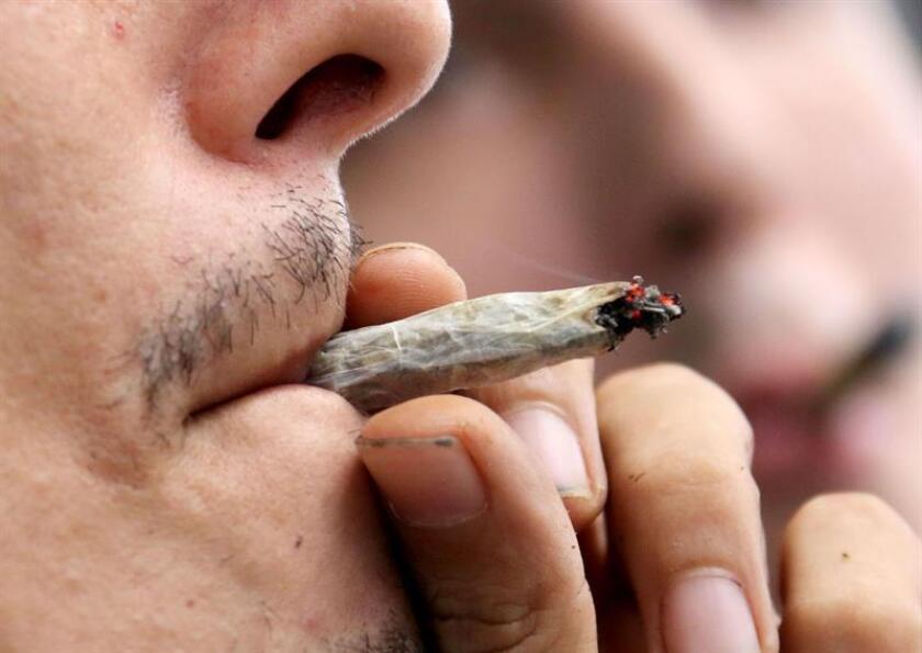 Fumar marihuana por placer ya es legal en todos los estados de la costa oeste después de que hoy entraran en vigor en California y Nevada las medidas aprobadas por los votantes la noche electoral del 8 de noviembre. EFE/ARCHIVO