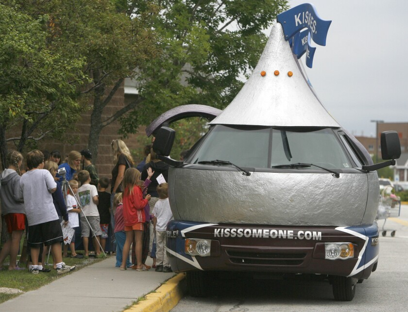 Hershey Kissmobile