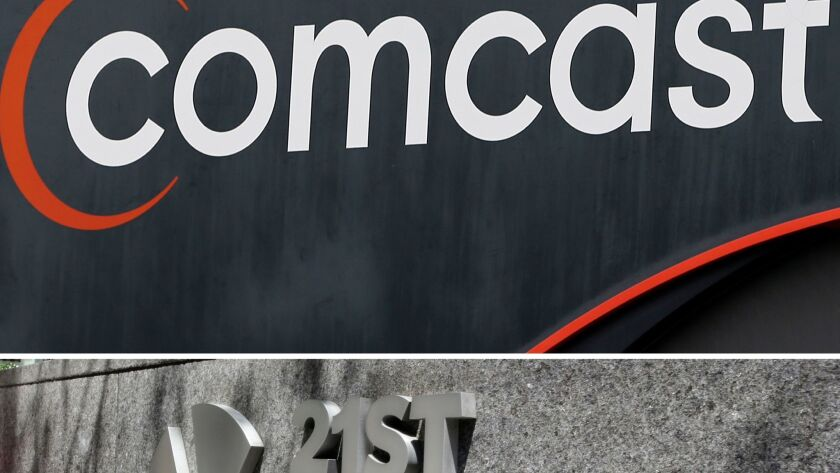 Comcast Corp. is no longer in the running to buy some of Rupert Murdoch's 21st Century Fox assets.