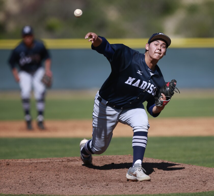 Madison senior Christian Becerra will have pitched his last prep game if the CIF on Friday officially cancels high school spring sports.