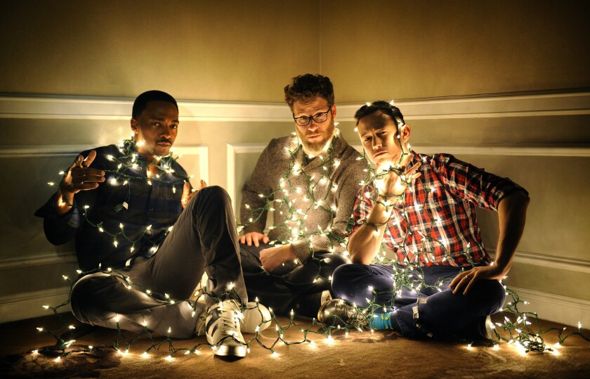 Sharing Christmas Cast.Q A Seth Rogen And Co Talk Up Their R Rated Christmas Film