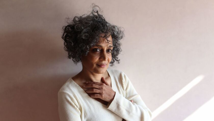"""Arundhati Roy, author of """"The Ministry of Utmost Happiness."""""""