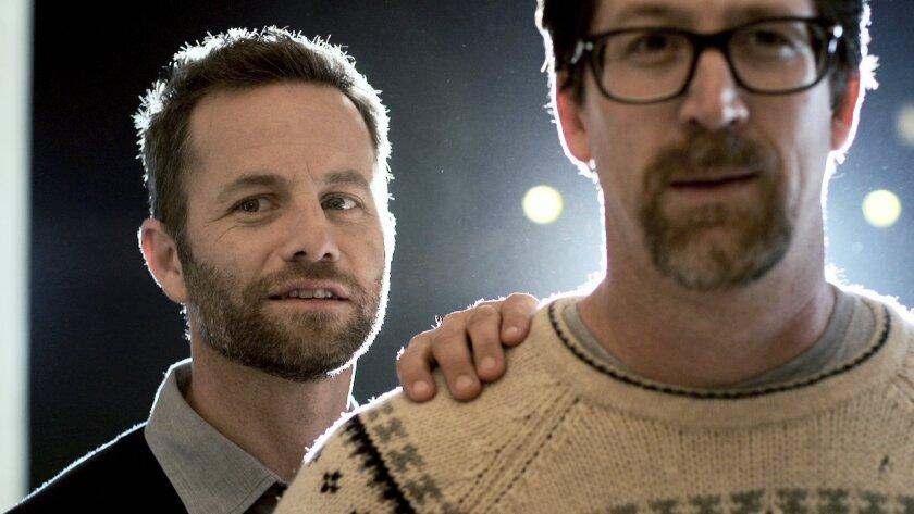 "Kirk Cameron and Darren Doane in ""Kirk Cameron's Saving Christmas."""