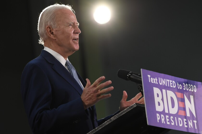 Biden Formally Clinches 2020 Democratic Presidential Nomination