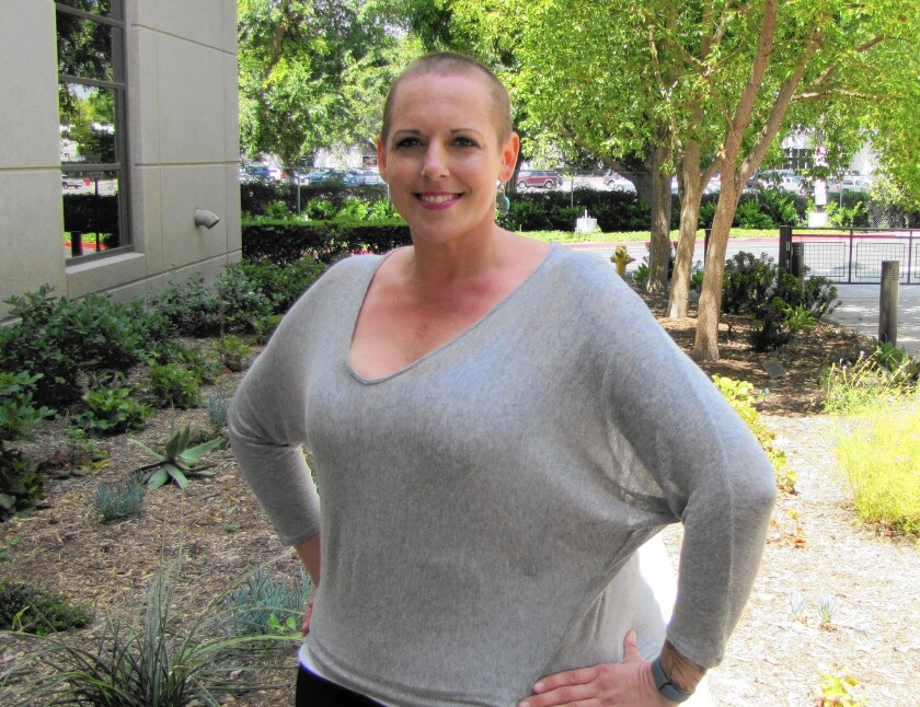Cassia Soldano took advantage of her employer's exercise-at-work programs, which helped her lose more than 60 pounds in the last two years.