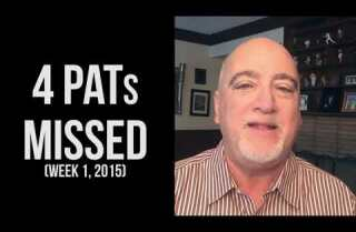 Bill Plaschke's Wakeup Call: The new PAT rule is good for football