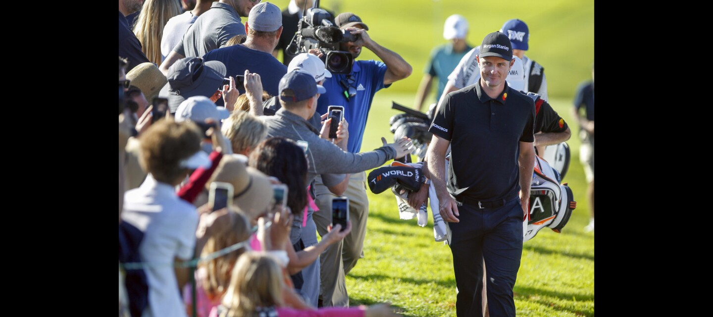 Second round of Farmers Insurance Open