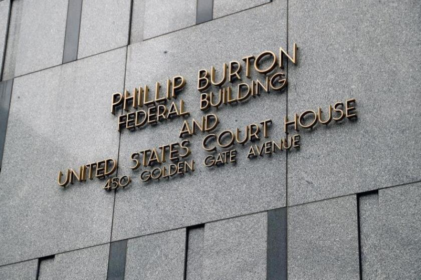 A view of the San Francisco Federal Courthouse where Former Peruvian President Alejandro Toledo appeared in front of a US Magistrate Judge with his new US Attorney Graham E. Archer after his previous attorney renounced, in San Francisco, California, USA, 07 August 2019. EFE/EPA/John G. Mabanglo